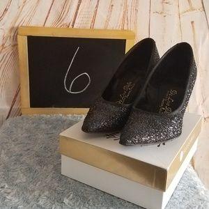 Palter Deliso De Liso Debs Vintage Sparkly Heels